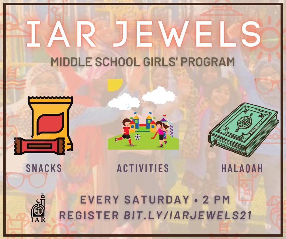 IAR Jewels: Middle School Girls Program