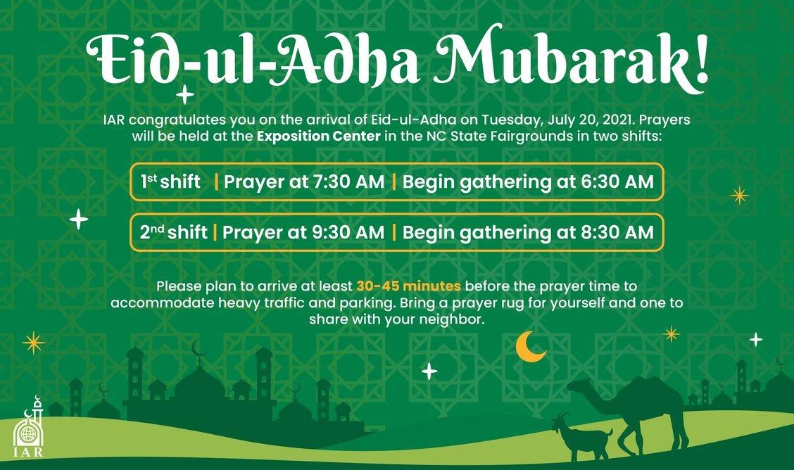 Eid ul Adha Volunteers